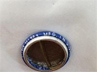 1983 Roberto Clemente Blue Pin Back Button