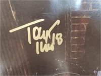 Tony Twist St Louis Blues Signed Poster