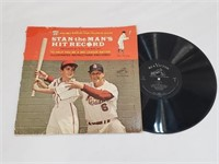 Stan The Man's Musial Hit Record LP Advertisment
