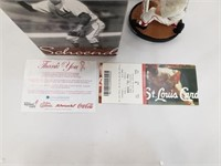 Red Schoendienst St Louis Cardinals SGA Bobblehead