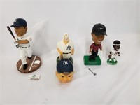 Lot Of 4 AS IS Need Repair Bobbleheads