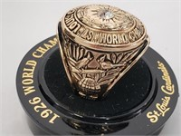 1926 St Louis Cardinals WS Champs Replica Ring