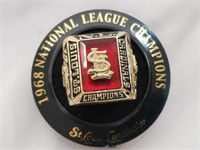 1968 St Louis Cardinals NL Champs Replica Ring