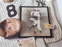 Yogi Berra New York Yankees Memorabilia Print