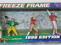 1998 Joe Montana Freeze Frame Starting Lineup
