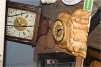 2 Vintage Clocks