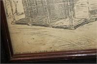 Framed Sketched Bridge