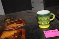 Hanging Wall Decor & Fire King Cup