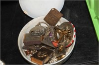 Bowl with Various Items