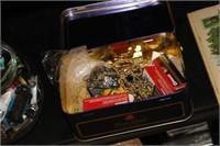 Tin of Various Items