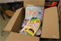 Box of Coloring Pencils,Thank You Items,etc