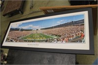 Framed Packers Stadium Print,41x16
