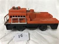 Lionel Train Engine #3927 Orange Work Engine
