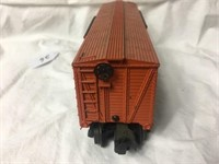 Lionel Train car#3656 Marked Armour Plastic top