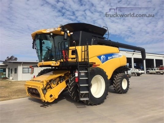 New Holland CR9080 Black Truck Sales - Farm Machinery for Sale
