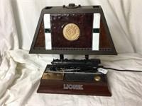 Lionel Train Lamp Plastic top