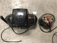 Transformer train control switch Two (2) Cords