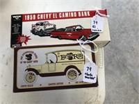 1959 Chevy El Camino Bank / 1916 Studebaker Panel