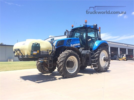 New Holland T8.360 Black Truck Sales - Farm Machinery for Sale