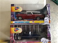 1955 Chevrolet Nomad / 1949 Mercury Lead Sled