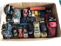 Box of Miscellaneous cars