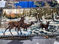 Deer Tapestry (38 x 20)  Quantity =2