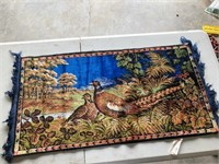 Pheasant Tapestry Made in Italy (38 x 20)