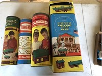 Building Toys  Lincoln Logs / American Logs