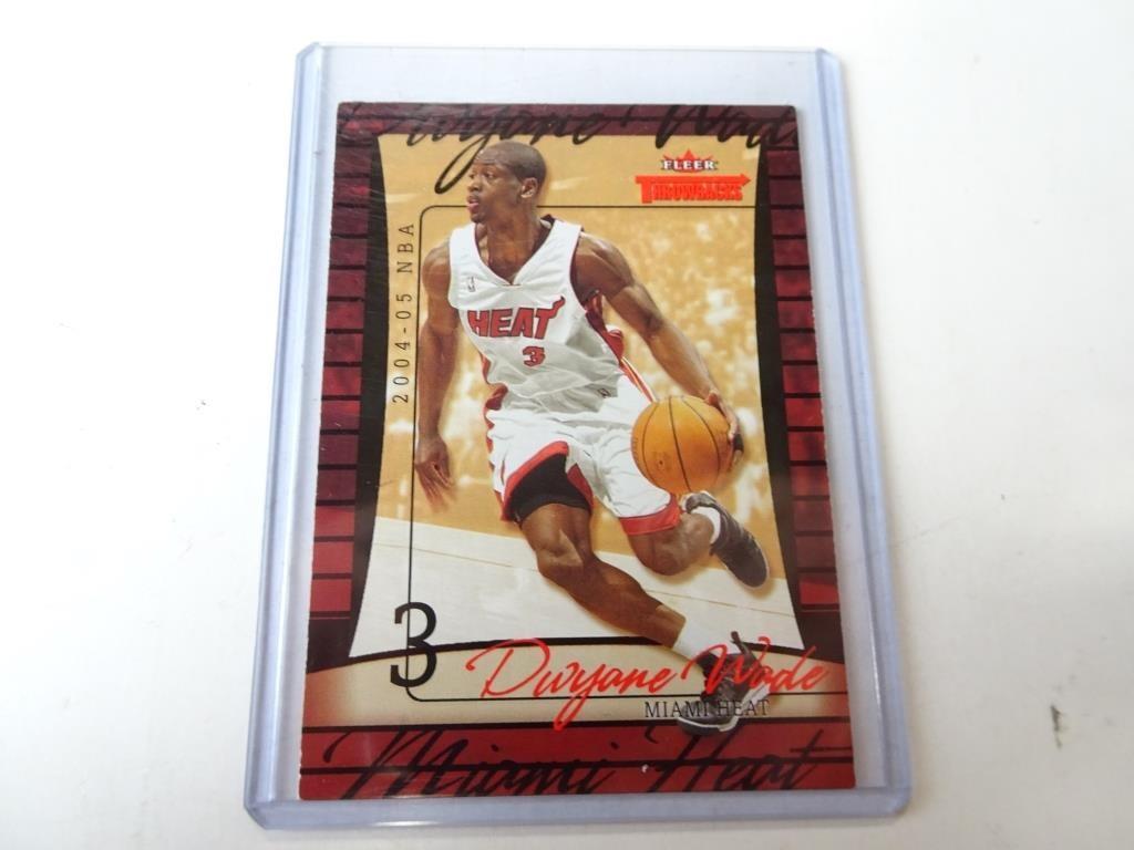 99 Dwayne Wade Fleer Rookie Basketball Card Dugan Inc