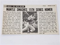 1964 Topps Giant #25 Mickey Mantle Baseball Card