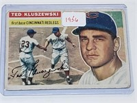 1956 Topps #25 Theodore Kluszewski Baseball Card