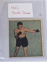 1951 Berk Ross #2-12 Joe Maxim Boxing Card
