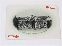 1909 James Jeffries Burns Squires Playing Card