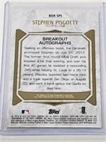 2016 Topps BOA-SPS Stephen Piscotty Signed /299