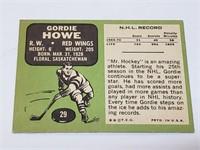 1970 Topps #29 Gordie Howe Detroit Red Wings