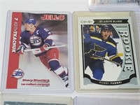 St Louis Blues Hockey Card Lot Vintage To Modern