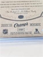 2016-17 UD #J-RF Robby Fabbri Game Used Card