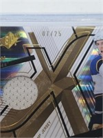 2008-2009 SPX #11 David Perron Game Used 7/25