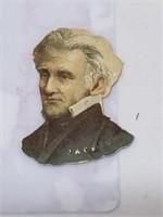 RARE 1888 Scrapps Tobacco Andrew Jackson