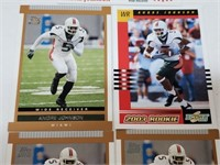 (5) Andre Johnson Rookie Cards