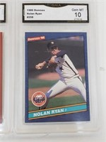 (4) Gem Mint 10 Baseball Cards Rodriguez Ryan
