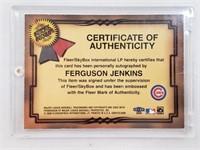 Fleer Greats of The Game Signed Ferguson Jenkins