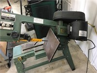 Enco 1/3HP metal cutting band saw   Leist Auctioneers