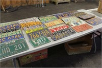 "COLLECTION OF ""48"" LICENSE PLATES"