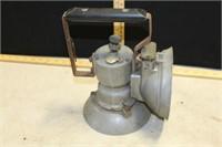 MODEL A    UNION CARBIDE LAMP W/ OXWELD LAMP