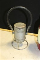 CAMPING HEATER, STOVE, R.R. BATTERY LANTERN