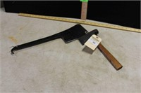 MEAT CLEAVER, UNMARKED HATCHET