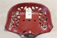 """RED CAST IRON SEAT (SMALL REPAIR), 16"""""""
