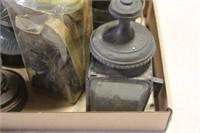 BOX OF LANTERNS VARIOUS SIZES & PARTS
