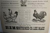 ORIGINAL UNUSED 1880'S STORE SIGN